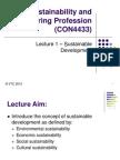 L1 Sustainability