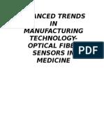 Optical Fiber Sensors in Medicine 1