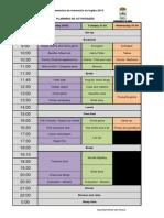 Planning de Actividades 2015
