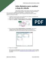 Tablas Dinámicas Excel 2013