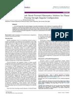 Artificial Neural Network Based Forward Kinematics Solution for Planar Parallel Manipulators Passing Through Singular Configuration 2168 9695.1000106 4