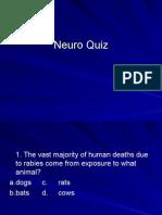 Neuro Quiz