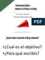 Como Aumentar Las Visitas a Tu Blog