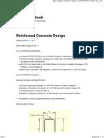 Reinforced Concrete Design _ Engineer's Outlook
