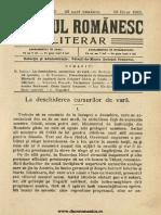 Neamul Romanesc Literar 89