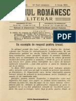 Neamul Romanesc Literar 98