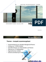 infobroker.de ManagementThemen Dezember 2009