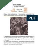 Villena y los Reyes Católicos en el Pleito de Los Alhorines. (Versión J. M. Soler)