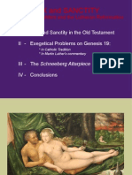 PRESENTATION - Sex and Sanctity. Lot and his daughter and the Lutheran Reformation