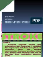 Rehabilitasi Stroke