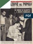 Claretta Petacci - Illustrazione Popolo 1950 n11