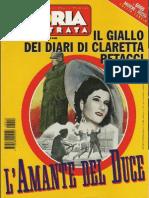 Claretta Petacci - Mussolini - STORIA ILLUSTRATA 1999 n10
