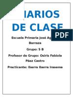 Diarios de Clase 2015