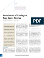 Periodization of Training for Team Sport Athletes!!!!