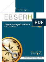 Amostra - Aula 01 - Lingua Portuguesa Ebserh
