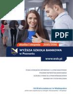 Informator 2015 - studia I stopnia - Wyższa Szkoła Bankowa w Poznaniu.pdf