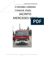 Carro Bomba Urbano Mercedes
