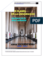 290. DAR CLASES EN LA UNIVERSIDAD. DOCENCIA EN EL NIVEL SUPERIOR