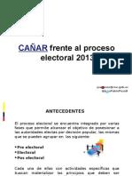 Cañar Frente Al Proceso Electoral