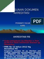 Penyusunan Dokumen Akreditasi 2013