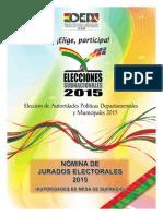 Sep. Jurados Electorales