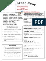 newsletter week 29 & 30