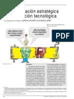 LECTURA 3 de La Planeación Estratégica a La Planeacion Tecnologica