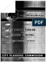 Downtown Oakland Traffic and Parking Plan (1947)