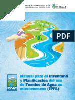 Manual Para Inventario de Fuentes Agua y Planificacion de Microcuencas