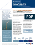 Offshore Wind Turbine 6mw Robust Simple Efficient