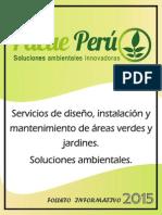 PACAE PERÚ - FOLLETO INFORMATIVO 2015