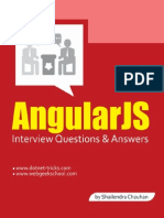 AngularJS Interview Questions & Answers - By Shailendra Chauhan
