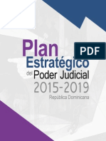 Plan Estratégico del Poder Judicial 2015-2019