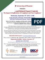 Phoenix-September 16-Academia... Export Compliance