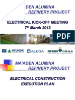 SAMA_ELEC Execution Plan_130307.ppt