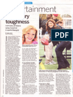"""""""Necessary Roughness"""" feature with Callie Thorne interview"""