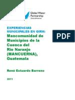 MANCUERNA Río Naranjo