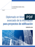 Diplomado en Modelamiento avanzado de la información para proyectos de edificación