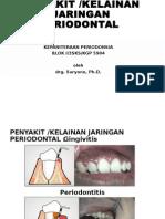 Penyakit Kelainan Jaringan Periodontal