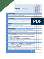 Relato Digital - Evaluación