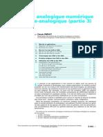 Conversions Analogique-numérique Et Numérique-Analogique (Partie 3)