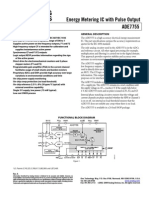 Energy Metering IC With Pulse Output ADE7755