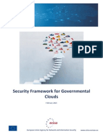 Security Framework for Governmental Clouds