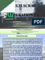 Presentación Multi Scrap 2014 Estandar