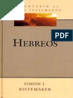 Comentario Al Nuevo Testamento Hebreos - Simon Kistemaker
