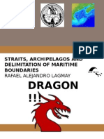 Straits, Archipelagos and Delimitation of Maritime Boundaries