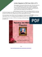 Astrology and Athrishta Magazine