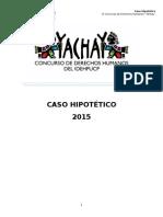 Caso Hipotético Yachay 2015
