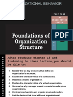 CH -15 Foundations of Organizational Structure