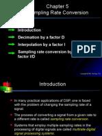 Chap5-Sampling Rate Conversion